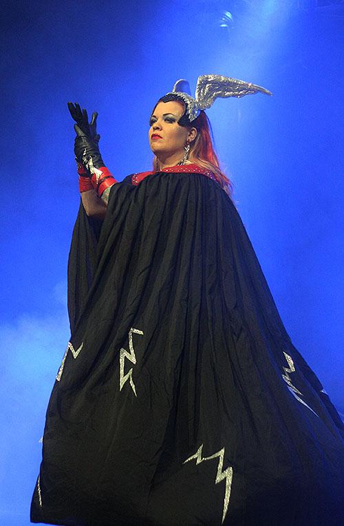Bettie Hellsinki Hellcat Blackheart, Finnish Queen of the Fire Tassels