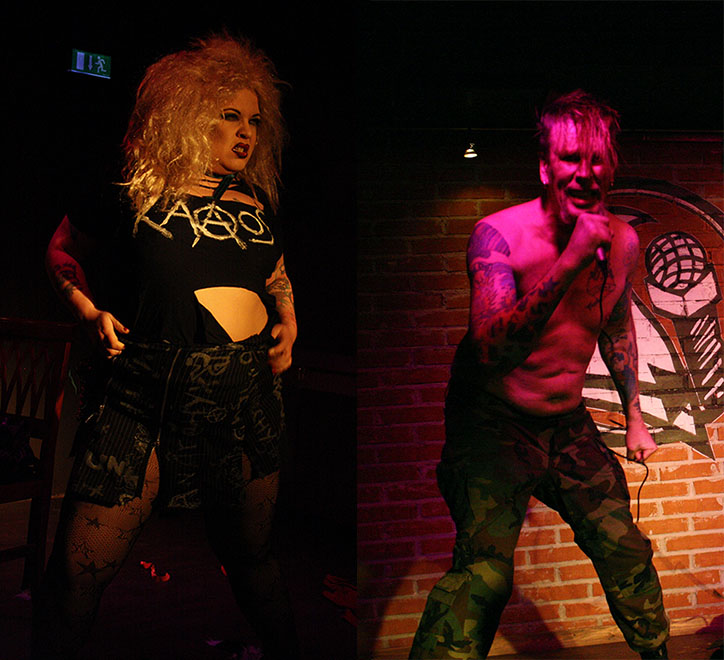 Frank Doggenstein & Bettie Hellsinki Hellcat Blackheart